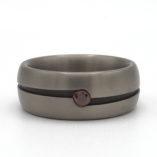Bolle titanium ring diamant 1
