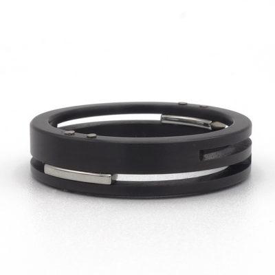 zwarte ring splitlevel