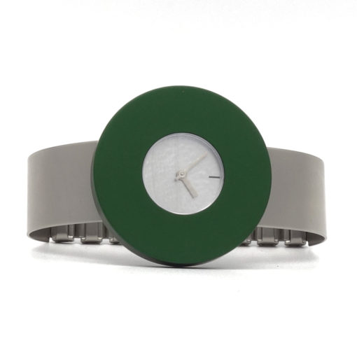 Pierre junod horloge Vignelli dot Halo bangle