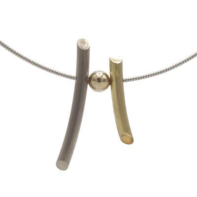 gouden spriet hanger