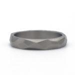 titanium trouwring met werkje